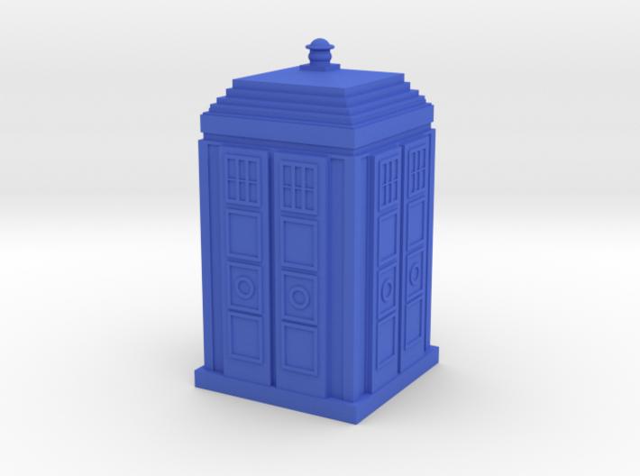 Tardis 04 HO Blue Plastic 3d printed