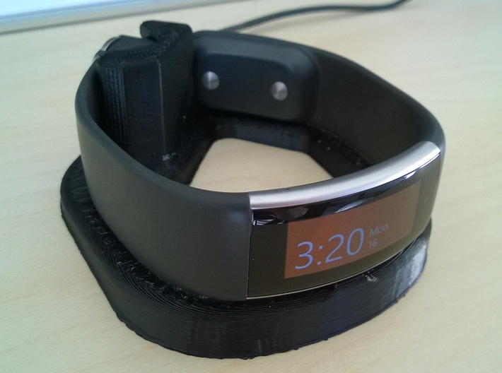 Microsoft Band 2 Stand (Med) 3d printed