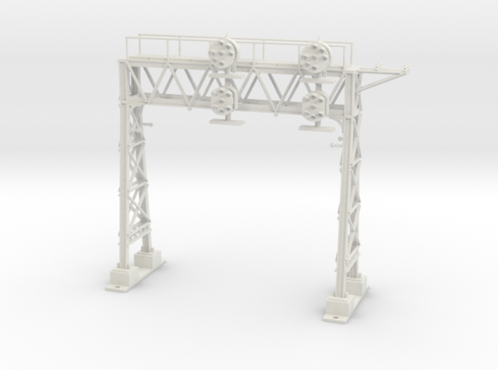 HO Scale PRR W-signal LATTICE 2 Track 3d printed