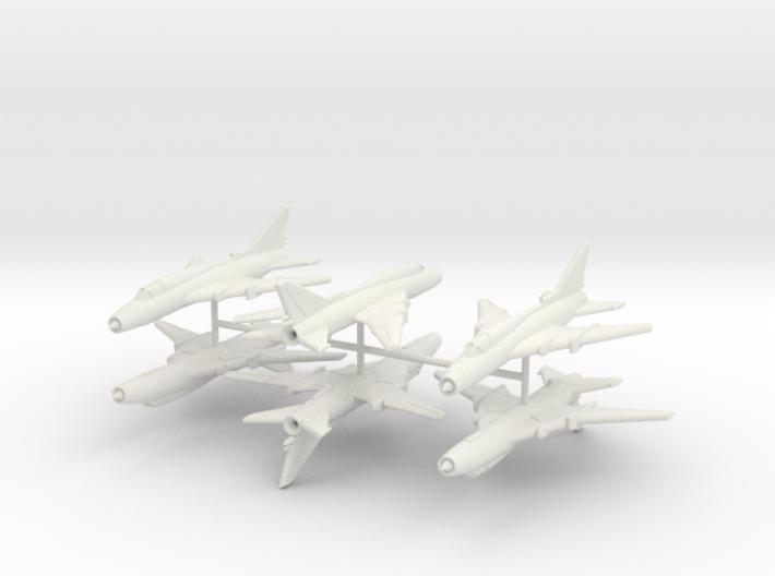 1/260 Sukhoi Su-22 (x6) 3d printed