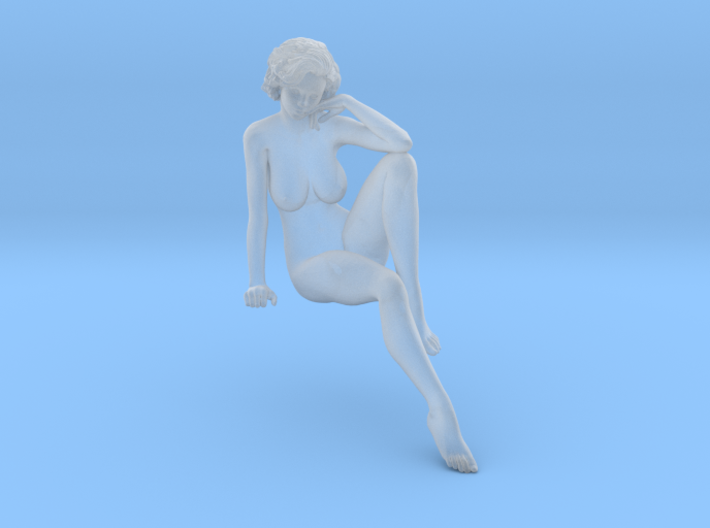 1:32 Short Haired Girl-015 3d printed