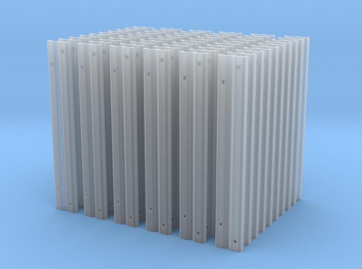 60 Rillenschwellen 0e - zur Landschaftsgestaltung 3d printed