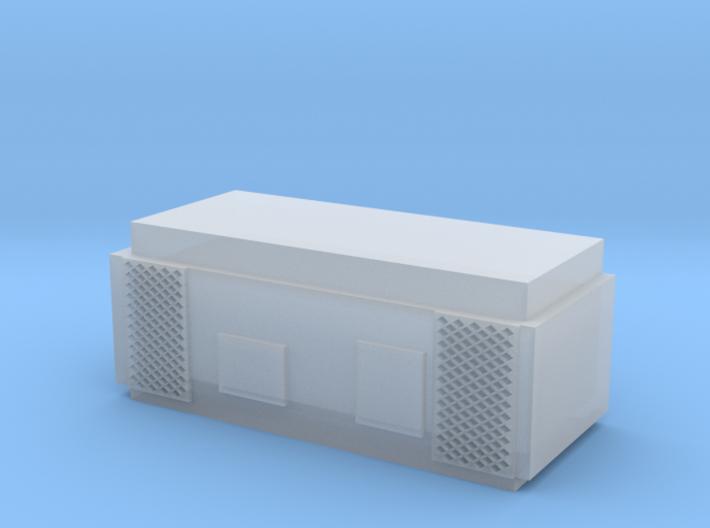 Trayne A/C compressor/condenser unit 3d printed