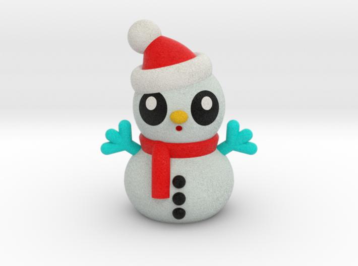 SNOWMAN A 3d printed