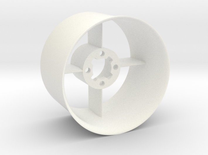 Ducted fan 50mm Stator with intake 3d printed