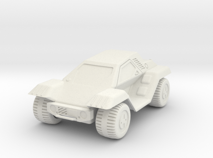 GV17 Utility Car (28mm) 3d printed