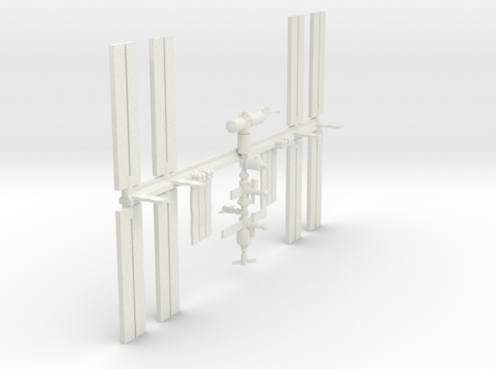 1/537 NASA International Space Station ISS 3d printed