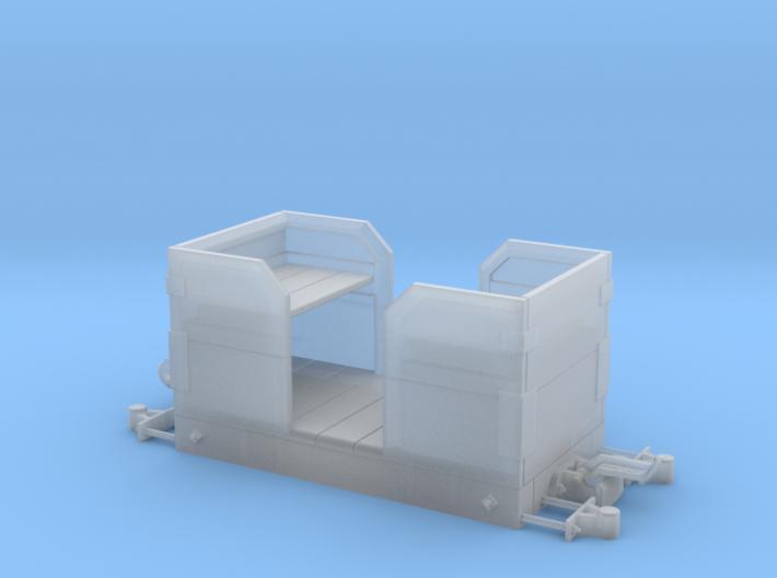 1:24 Heywood Small Passenger Car 3d printed