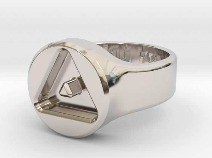 US8 Ring XXIII: Tritium 3d printed