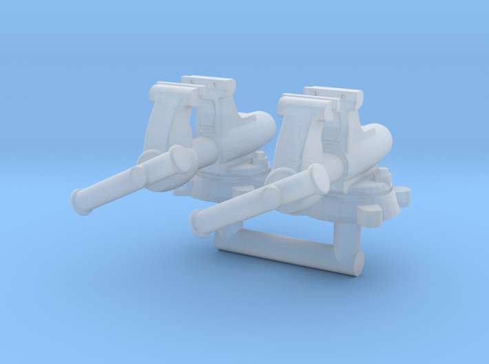 1/64 Bullet Bench Vice 2x 3d printed