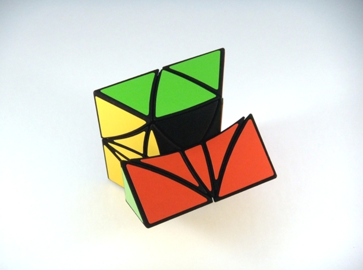 HeliPrism 9 Curvy Puzzle 3d printed Alternate First Turn