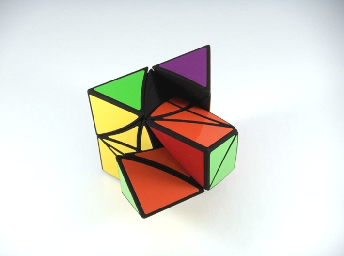 HeliPrism 9 Curvy Puzzle 3d printed Alternate Second Turn