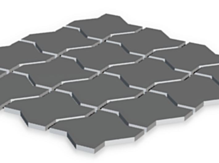 Pavement Pattern 3d printed
