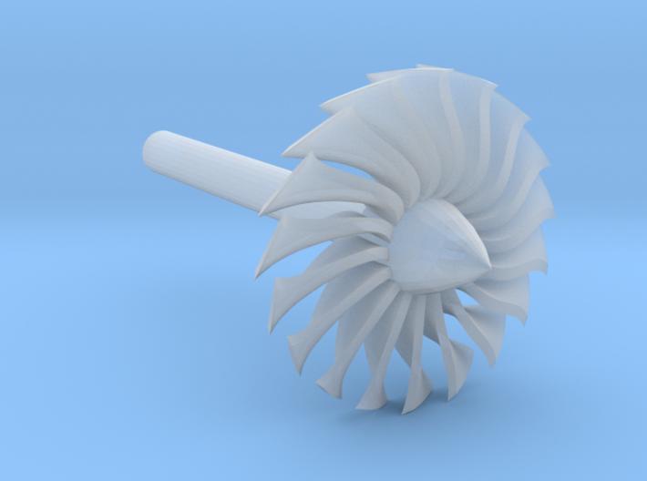 Jet Engine Desk Display [Fan] 3d printed