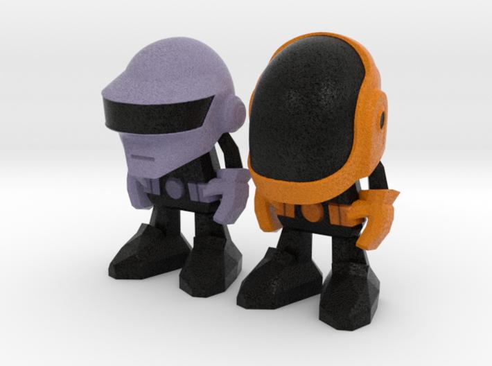 Daft Punk - 50mm 3d printed