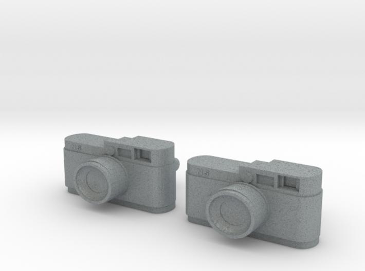Camera Cuff Links 3d printed