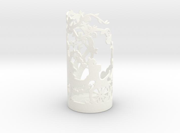 Tea Light Holder Spring 3d printed