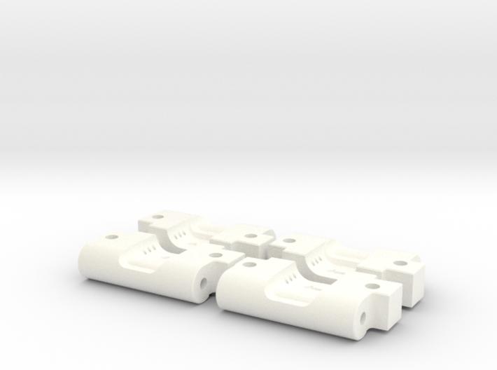 Quadra V2 Rear Arm Mounts (3-1 and 3-2) 3d printed