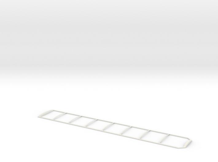 1/64 Walking Floor Trailer Tarp Frame 3d printed