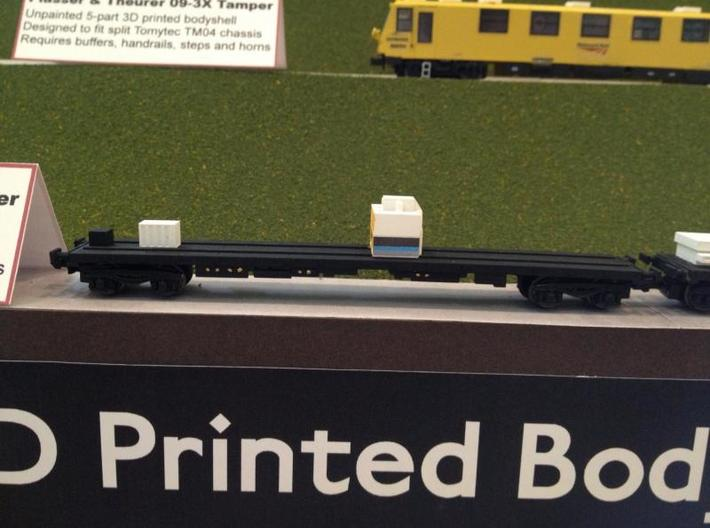 N Gauge Kirow Runner Wagon set 3d printed