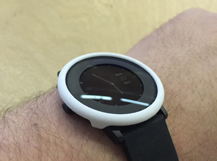 Pebble Time Round cover / bumper (fits all) 3d printed
