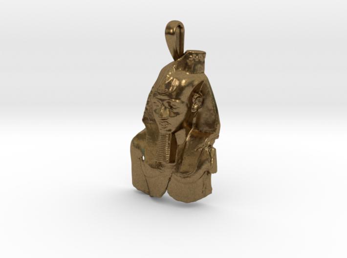 Ramesses II, Ozymandias, pendant 3d printed