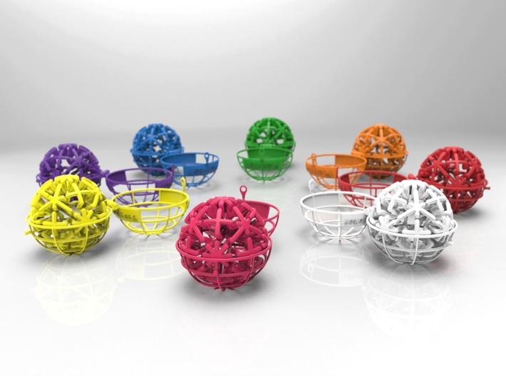 Flexi-ball 3d printed