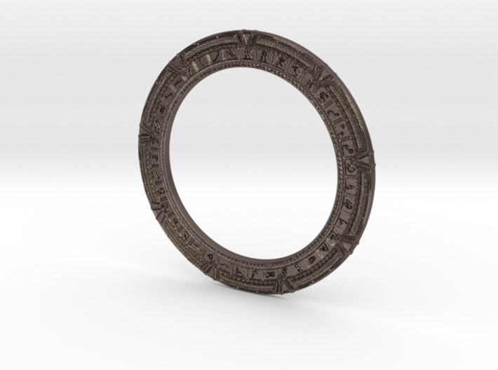 Stargate Keychain 3d printed