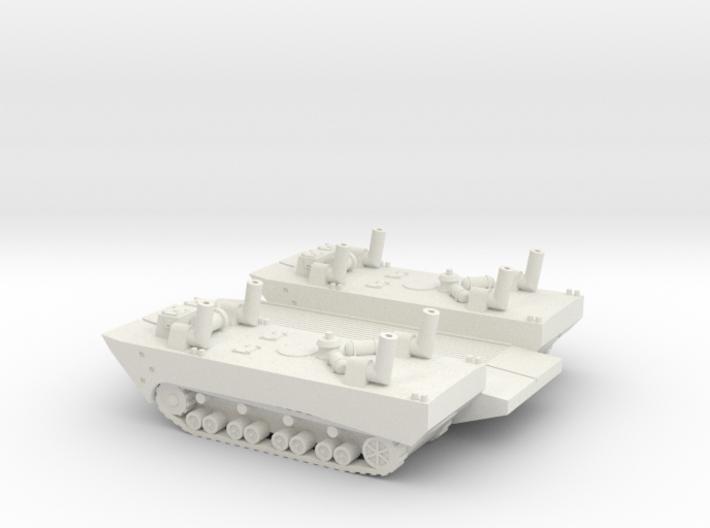 1/144 Panzerfahre German Panzerfähre Panzer IV 3d printed