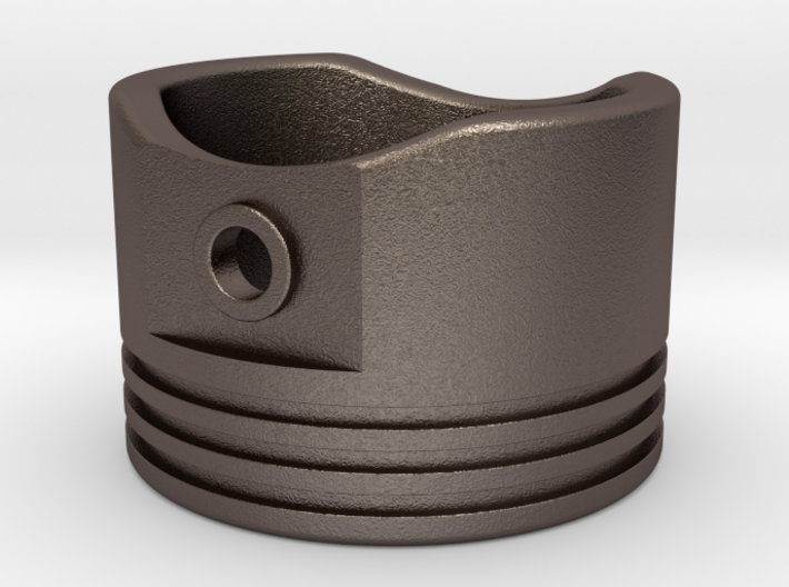Piston - US Size 7.5 SS 3d printed