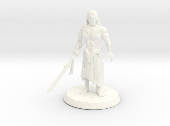 Barbarian Simplified 3d printed
