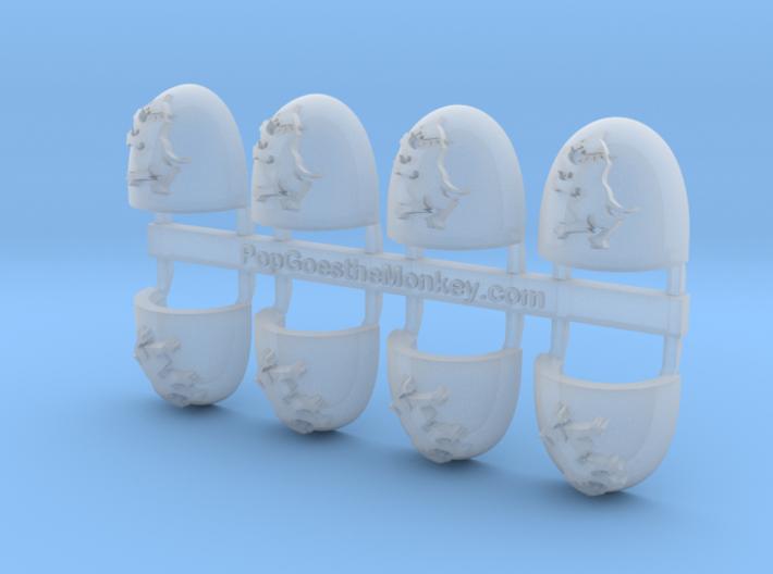 Warhounds - Gen5:Heresy Left Shoulder x8 3d printed