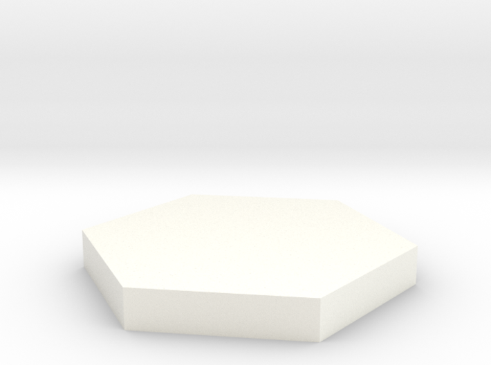 Hexagonal Base 3d printed