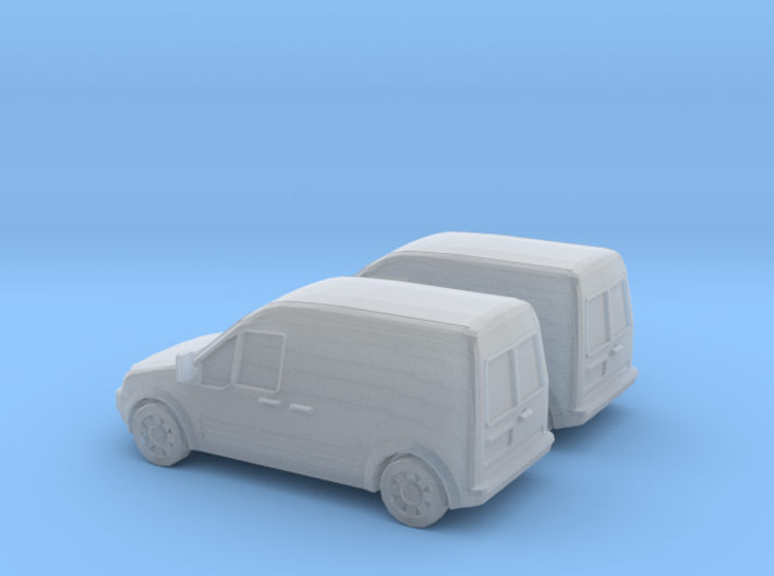1/148 2X 2002-08 Ford Transit Connect/English 3d printed