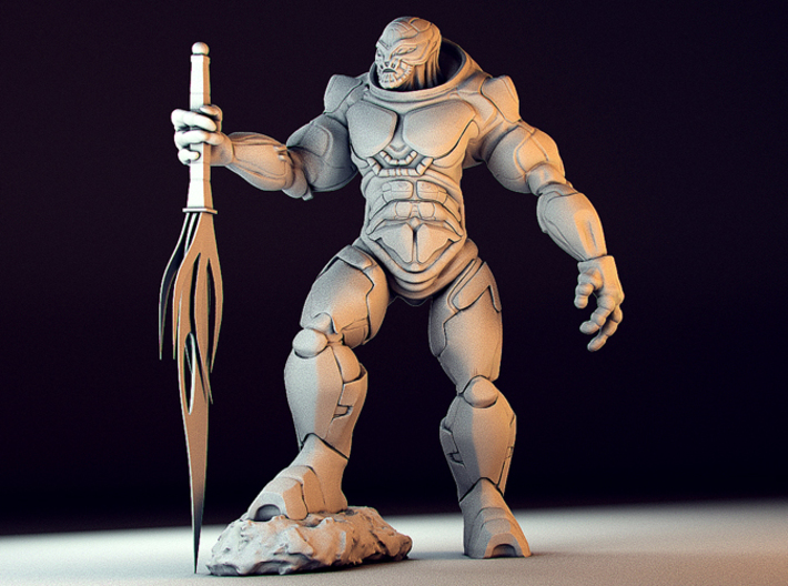 Krolk The Alien SpaceMarine 3d printed