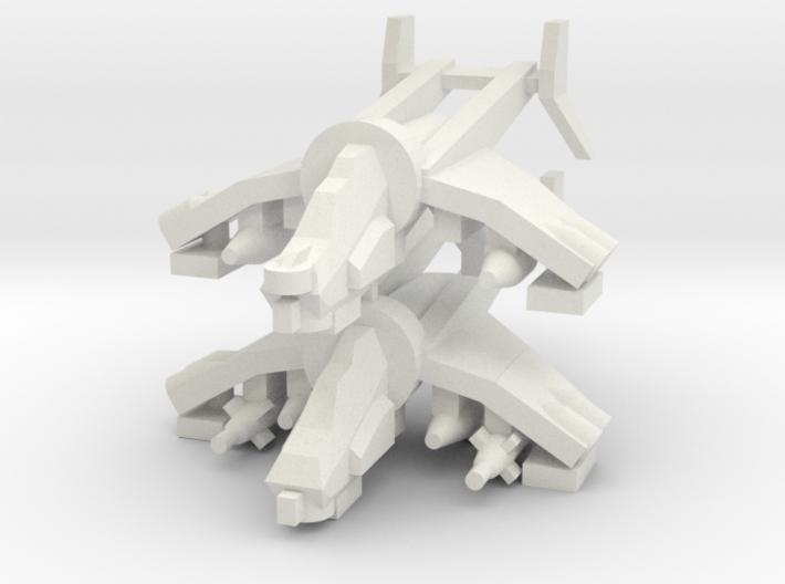 [5] Gunship (Target Designator), Gunship (Bunker B 3d printed