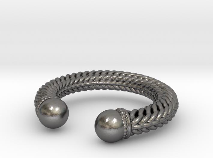 Viking Ring Alfa 3d printed