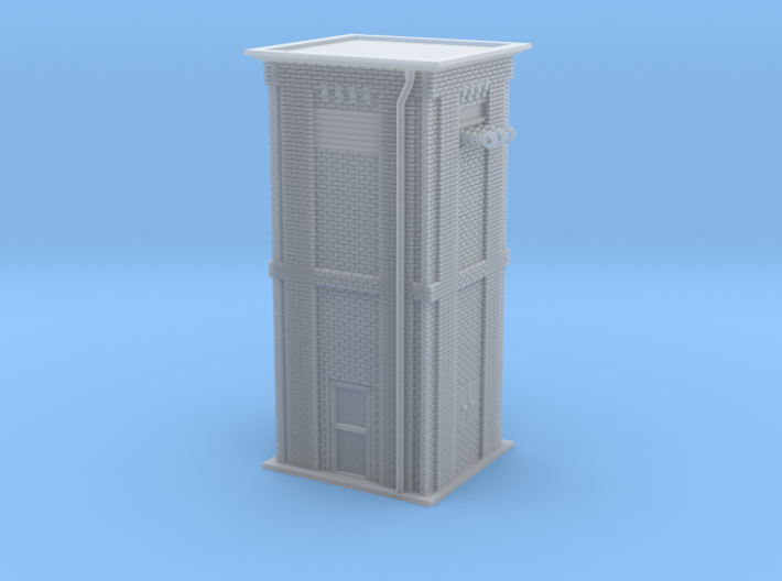Catenary System Tower 1 Z Scale 3d printed Catenary System Tower Z scale