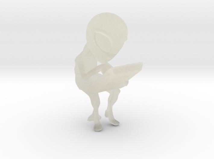 Aliens cradle 3d printed