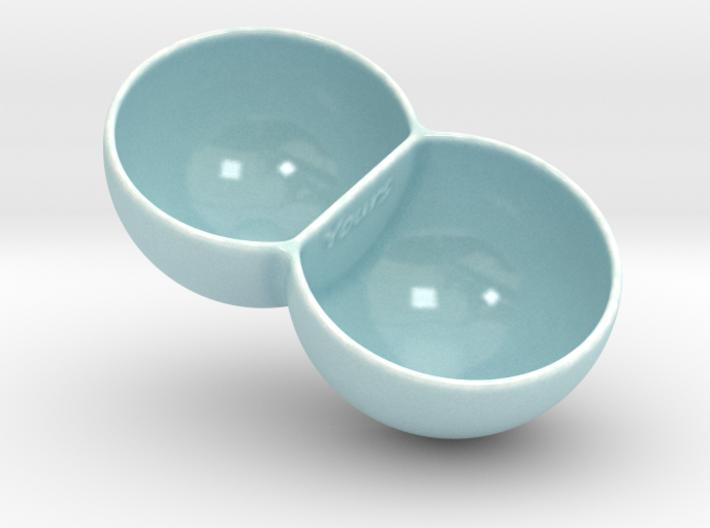 Double Ice Cream Bowl 3d printed