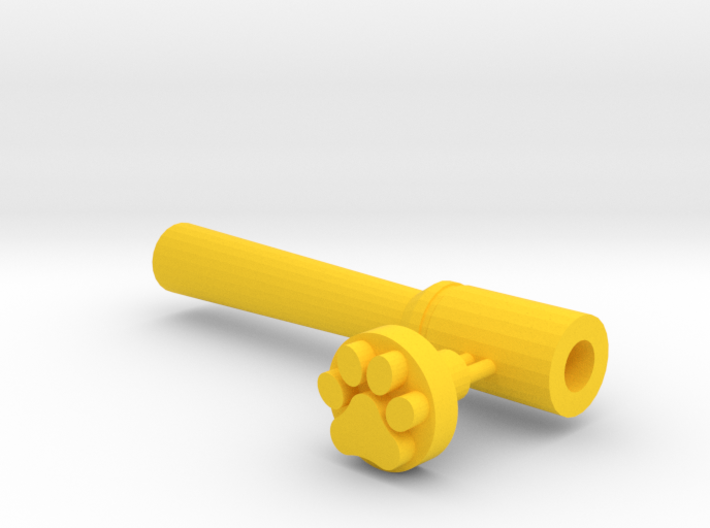 Paw And Tool 3d printed