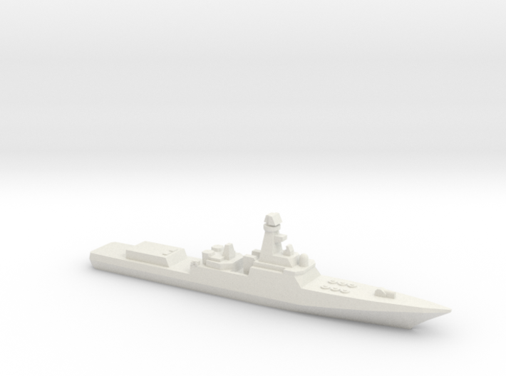 Project 21956 Destroyer w/ barrels, 1/3000 3d printed