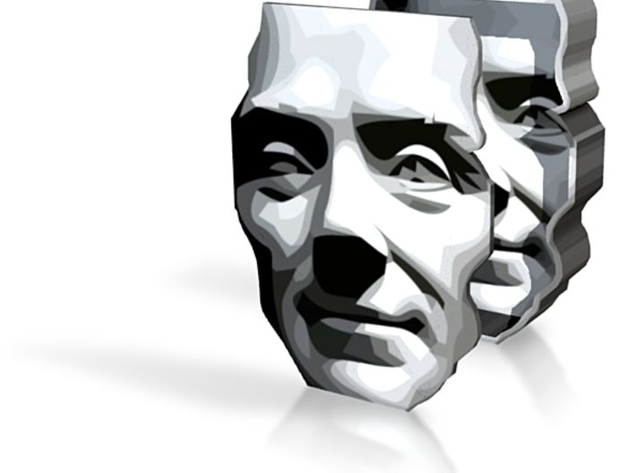 Spirit of Divisionism Box - 5in 3d printed