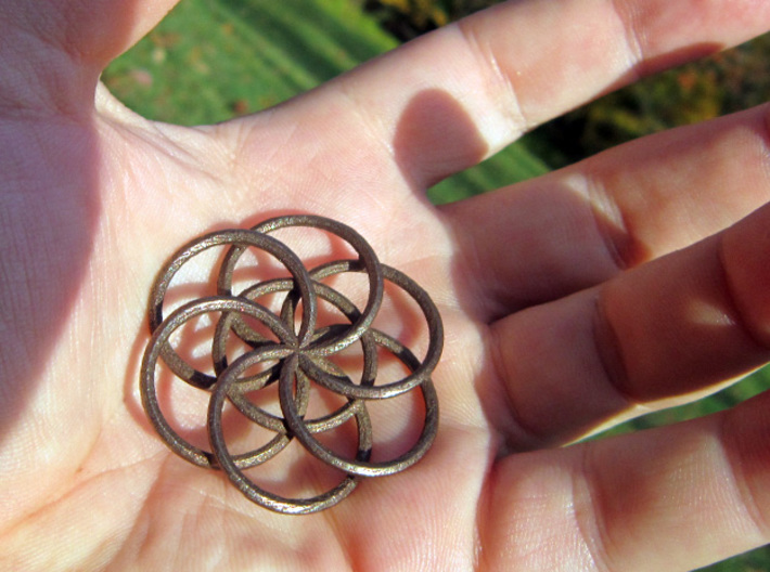 Seed of Life - 4.6cm 3d printed
