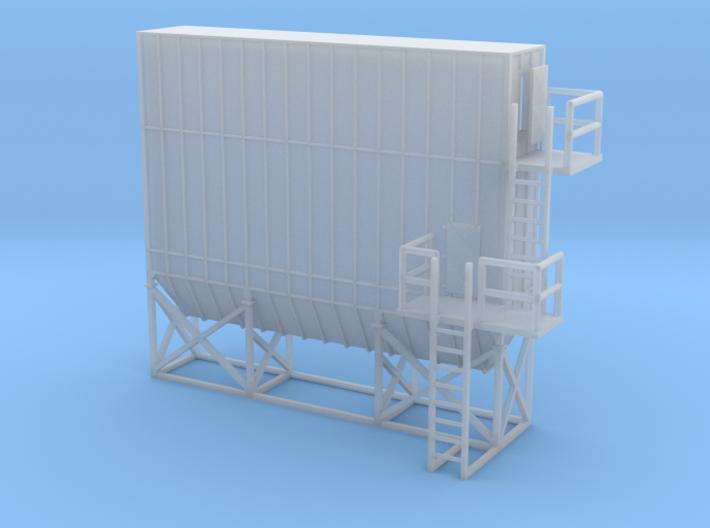 N Scale Dust Filter Nr2 3d printed