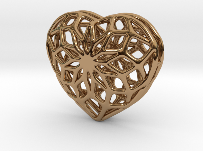 Valentine Heart - small 3d printed
