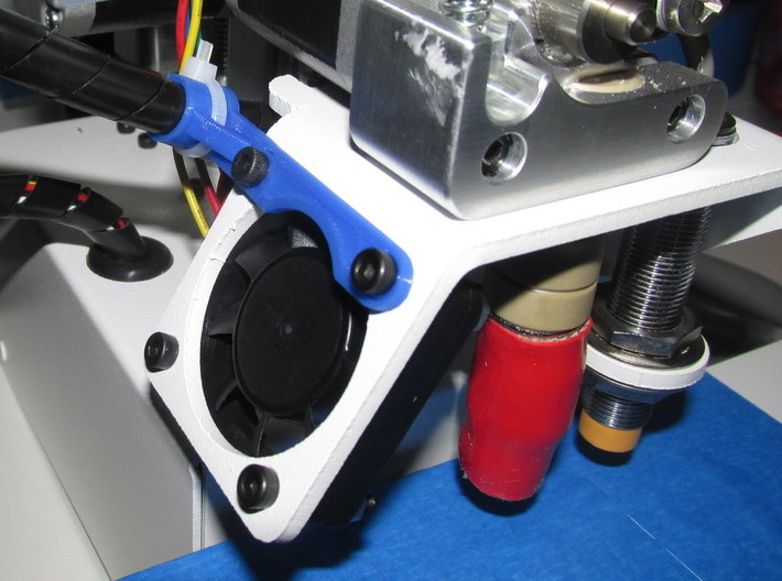 Printrbot Wire Clip 3d printed