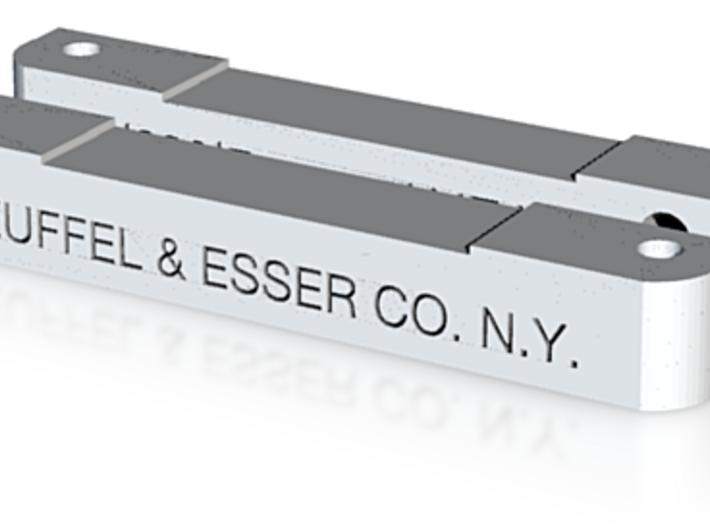 Keuffel & Esser sliderule - slideblocks for cursor 3d printed