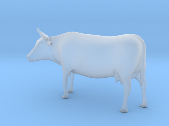 Cow 01 .Scale HO (1:87) 3d printed