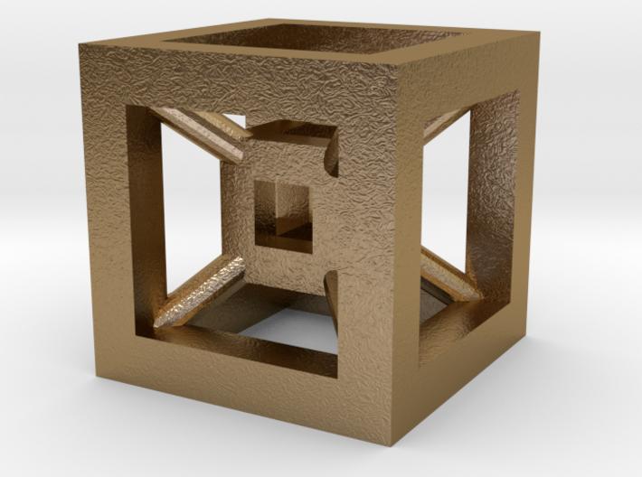 4D Cube(Tesseract) 12.5mm 3d printed